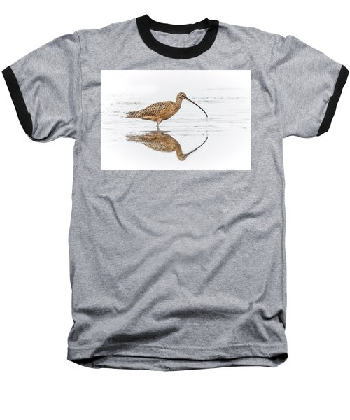Long-billed Curlew Baseball T-Shirt