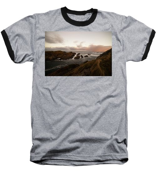 Long Exposure Arctic Baseball T-Shirt