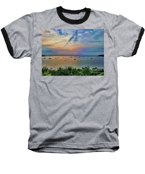 Long Island Sound From Glen Cove Baseball T-Shirt