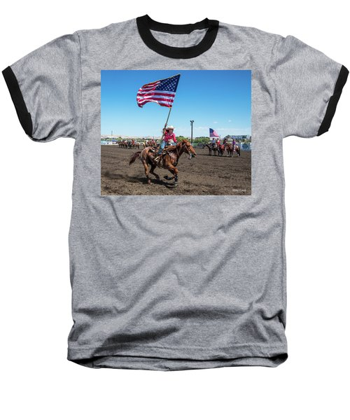 Long May It Wave Baseball T-Shirt