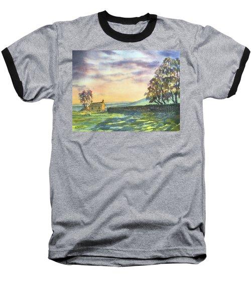 Long Shadows At Sunset Baseball T-Shirt