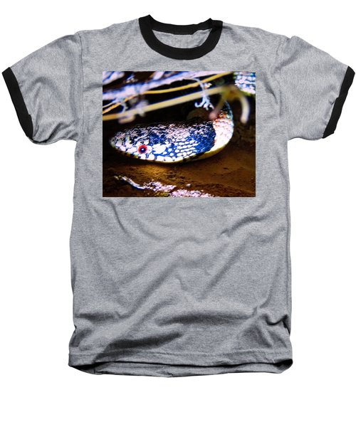 Baseball T-Shirt featuring the photograph Longnosed Snake Portrait by Judy Kennedy