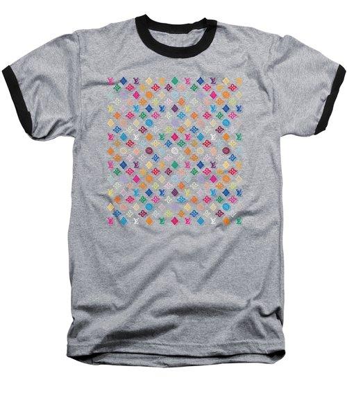 Louis Vuitton Monogram-4 Baseball T-Shirt