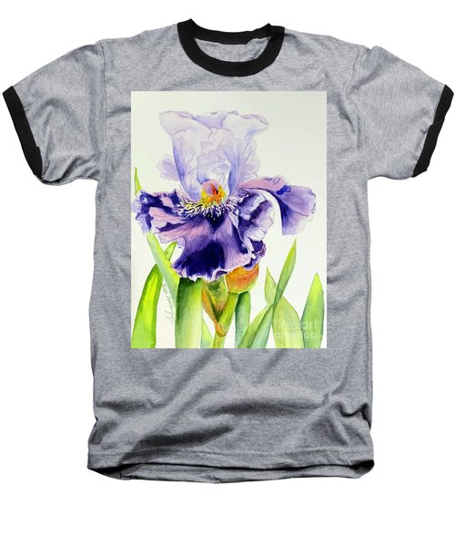 Lovely Iris Baseball T-Shirt