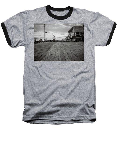 Low On The Boardwalk Baseball T-Shirt