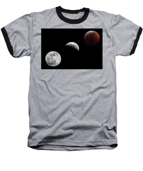 Lunar Eclipse Baseball T-Shirt