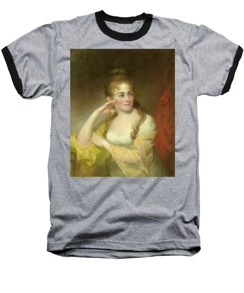 Portrait Of Lydia Leaming, 1806 Baseball T-Shirt