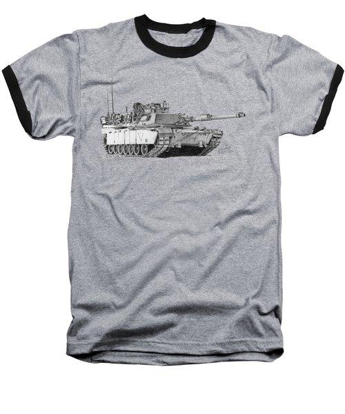 M1a1 C Company 1st Platoon Baseball T-Shirt