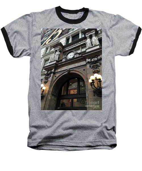 Macys Herald Square Nyc Baseball T-Shirt