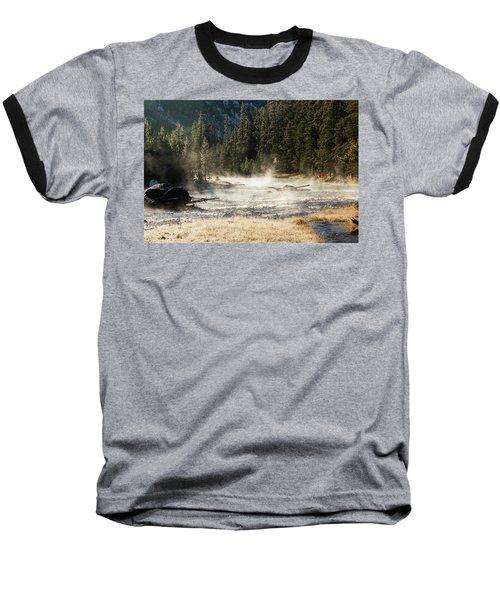 Madison River Morning Baseball T-Shirt