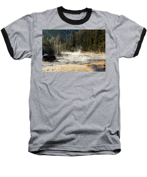 Madison River Morning Baseball T-Shirt