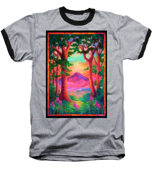 Magenta Morning Baseball T-Shirt