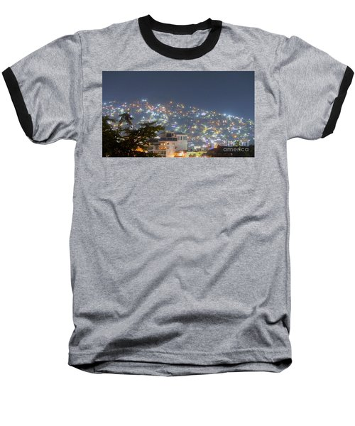 Magic Of Zihuatanejo Bay Baseball T-Shirt