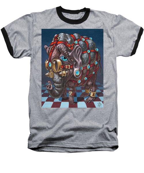 Magical Many-eyed Elephant Baseball T-Shirt