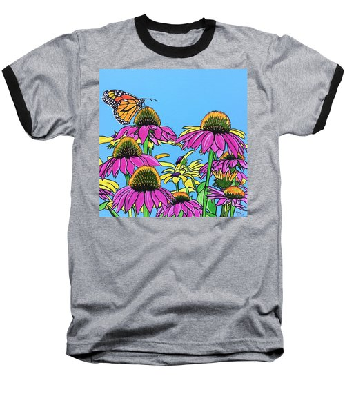 Magnificant Monarch Baseball T-Shirt