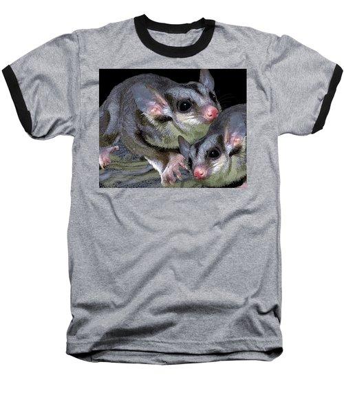 Mahogany Glider 1 Baseball T-Shirt