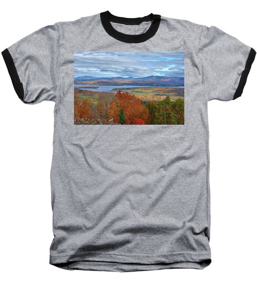Maine Fall Colors Baseball T-Shirt