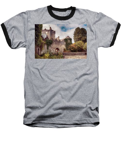 Malahide Castle By Autumn  Baseball T-Shirt