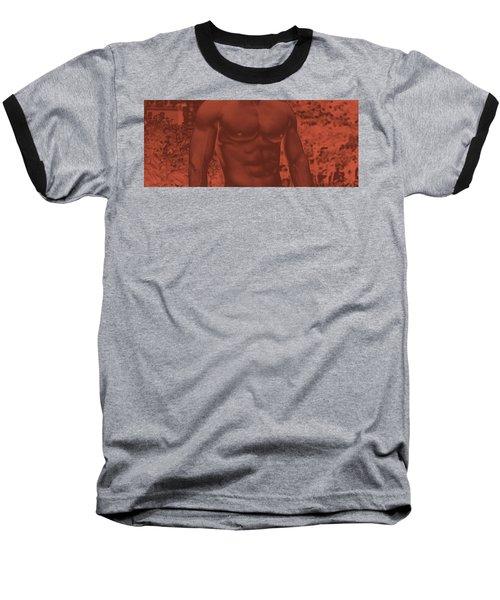 Male Torso Baseball T-Shirt