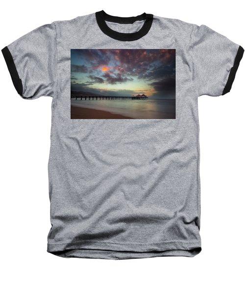 Malibu Pier IIi Baseball T-Shirt