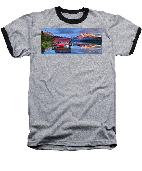 Maligne Lake T-shirt Baseball T-Shirt