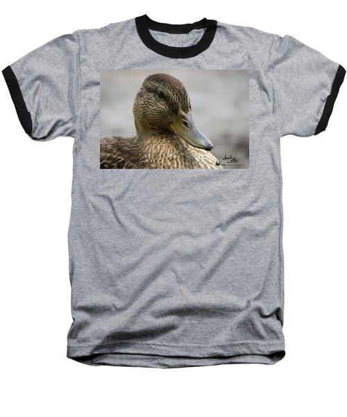 Mallard Hen Baseball T-Shirt
