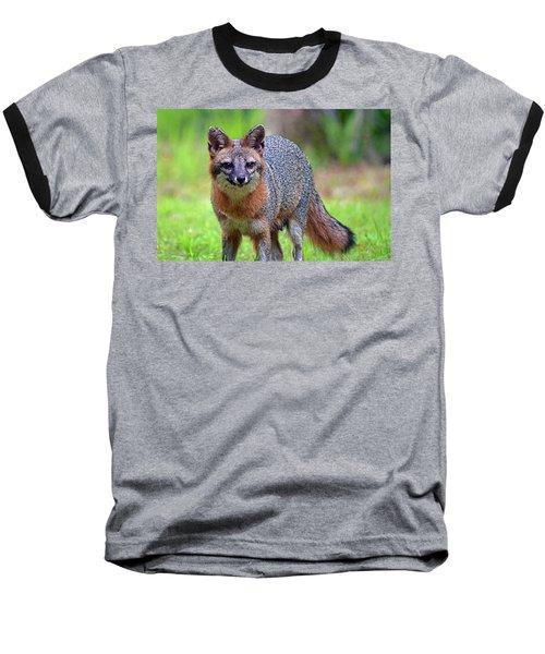Mama Fox Baseball T-Shirt