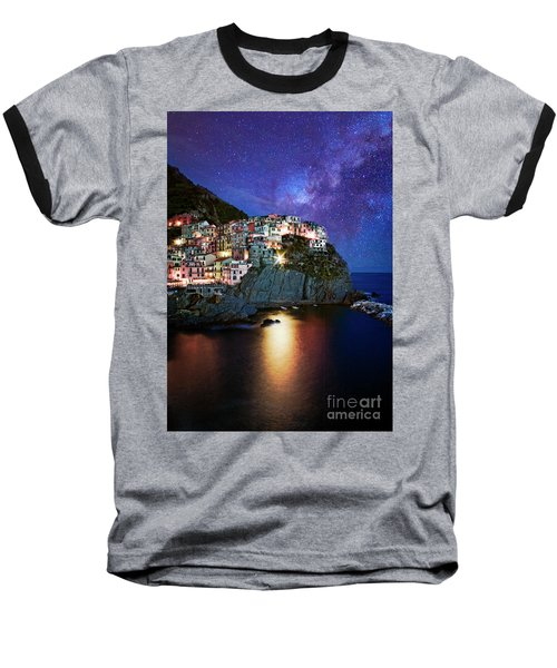 Manarola By Stars Baseball T-Shirt