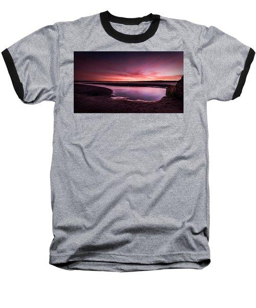 Marazion Sunset Baseball T-Shirt