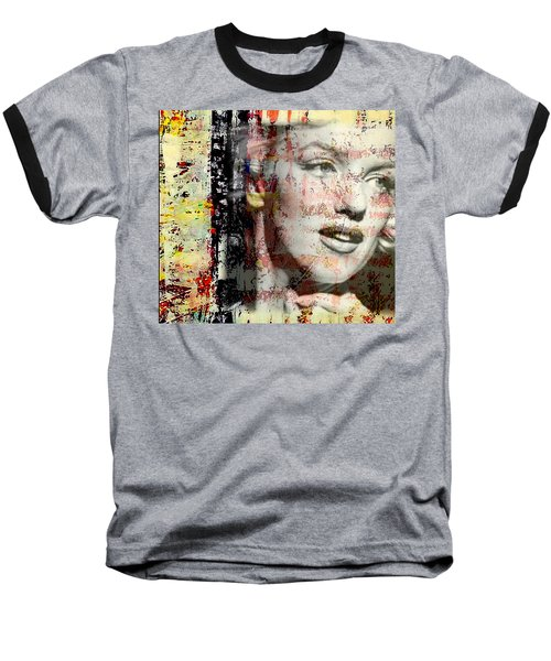 Marilyn Monroe 2 Baseball T-Shirt