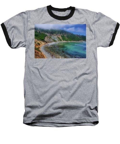 Marine Layer Over Bluff Cove Baseball T-Shirt