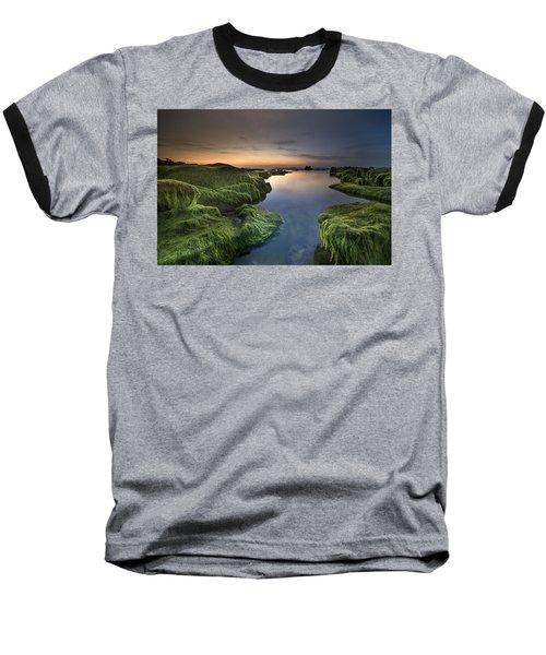 Marine Sunset Baseball T-Shirt
