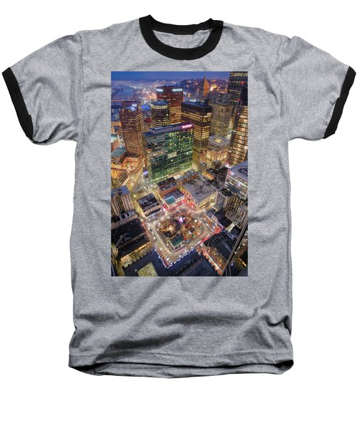 Market Square From Above  Baseball T-Shirt