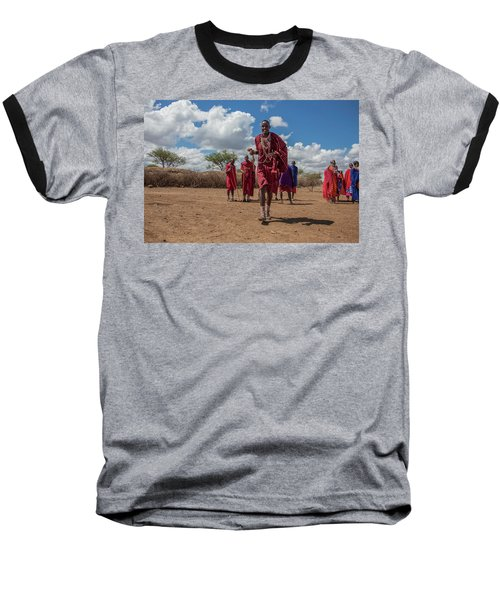 Maasai Welcome Baseball T-Shirt