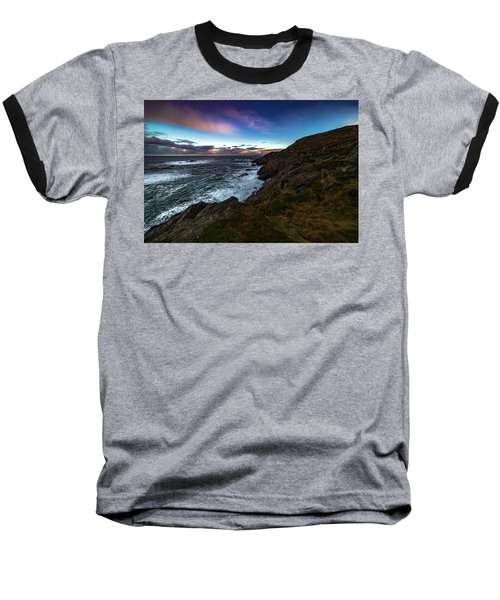 massive storm near Nyksund Baseball T-Shirt