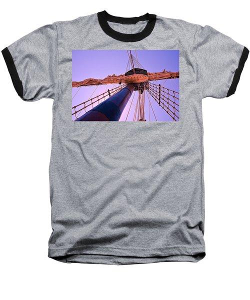 Mast And Sails Baseball T-Shirt