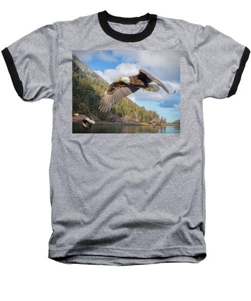Master Of The Skies Baseball T-Shirt