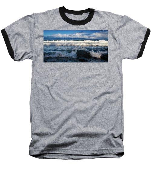 Maui Breakers Pano Baseball T-Shirt