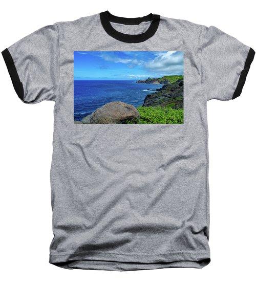 Maui Coast II Baseball T-Shirt