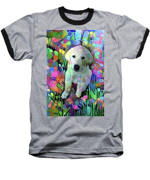 Max In The Garden Baseball T-Shirt
