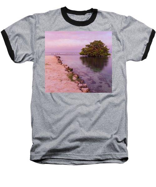 Mayan Sea Reflection 2 Baseball T-Shirt