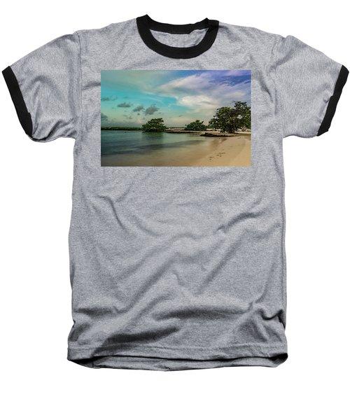 Mayan Shore 2 Baseball T-Shirt