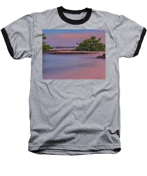 Mayan Shore Baseball T-Shirt