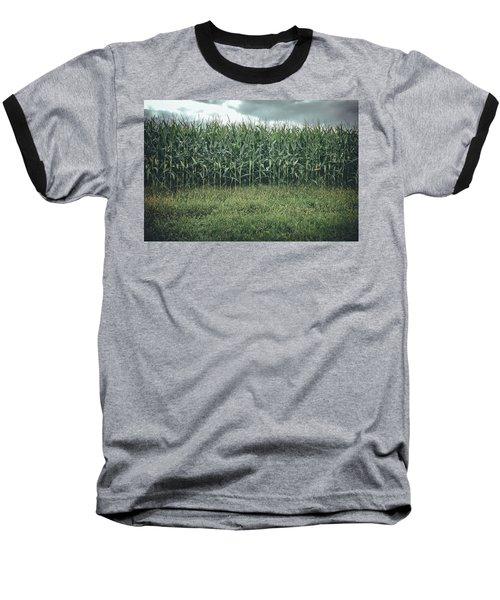 Maze Field Baseball T-Shirt