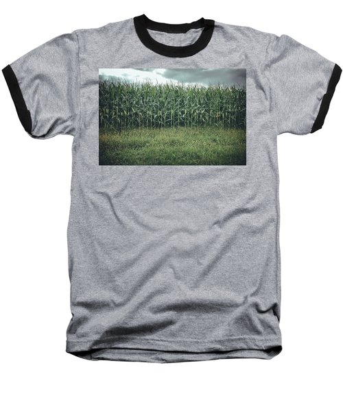 Maize Field Baseball T-Shirt
