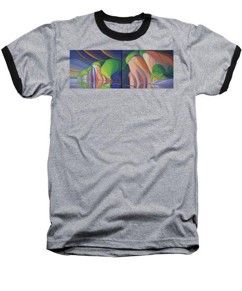 Mazinaw Rock Baseball T-Shirt