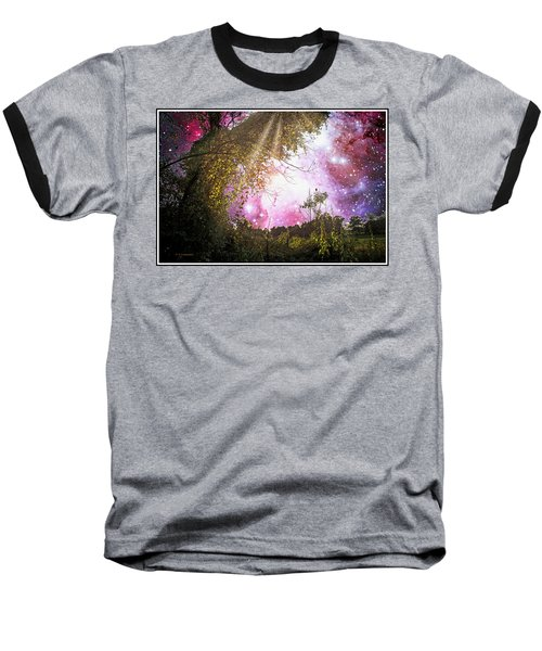 Meadow Starry Night Baseball T-Shirt