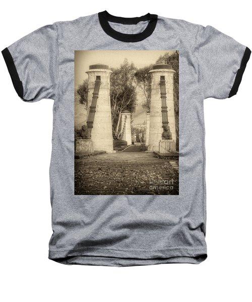 Medieval Bridge Baseball T-Shirt