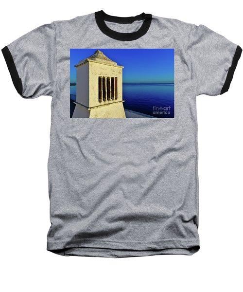 Mediterranean Chimney In Algarve Baseball T-Shirt