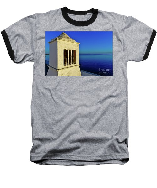 Mediterranean Chimney In Algarve Baseball T-Shirt
